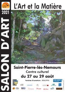 Salon d'art Saint Pierre lès nemours seine et marne le point du jour